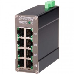 Red Lion Controls - 108TX-HV - N-TRON 8 Port Industrial Unmanaged Switch - HV