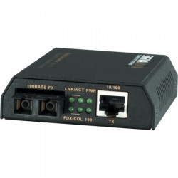 Signamax / AESP - 065-1110LFS - 10/100 MM Media Converter with USB Power Option