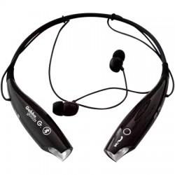GabbaGoods - GG-ABH2-BLK - GabbaGoods NeckBeats Bluetooth Stereo Headphones - Stereo - Black - Wireless - Bluetooth - Earbud, Behind-the-neck - Binaural - In-ear