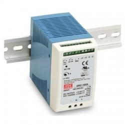 DuraComm - DRC-100A - 100W Single Output DIN Rail Power Supply, 13.8Vdc
