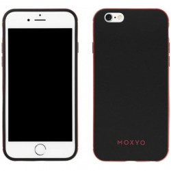 Moxyo - M1GBR-API60-9B0 - Ginza Case for Apple iPhone 6/6s in Black/Red