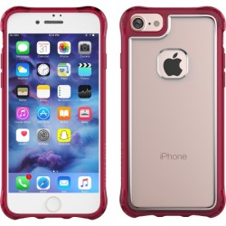 Ballistic Case - JE1738-B44N - Jewel Essence Case for iPhone 7 Burgundy