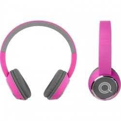 AlphaComm - C-HARMONIZE-PNK - Color Burst Harmonize BT On-Ear Headphones PNK