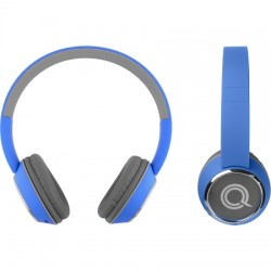 AlphaComm - C-HARMONIZE-BLU - Color Burst Harmonize BT On-Ear Headphones in Blue