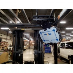 Havis - C-MH-1003 - Forklift Fixed Overhead Mounting Package for Compact Tablet Applications