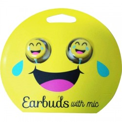 GabbaGoods - GG-CEB-CRL - Crying/Laughing Emoji Headphones