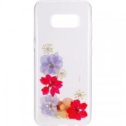 Flavr - 28685 - FLAVR iPlate Real Flower Amelia Samsung Galaxy S8