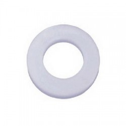 Bud Industries - W-1573 - Washer, Nylon, Flat, 5.5mm x 12.7mm, Pack of 25