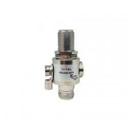 Citel - P8AX50-N/FF - 4GHz Bi-Directional 50V Coaxial Surge Protector