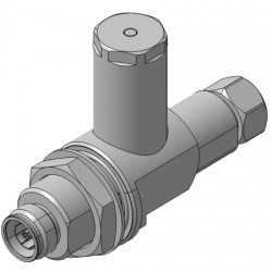Huber + Suhner - 3400.31.0001 - 4.3-10 Male to 4.3-10 Female EMP Protector