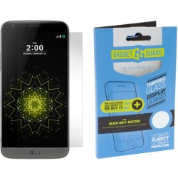 Gadget Guard - BPICLG000012 - Black Ice+ Glass Screen Guard for LG G5