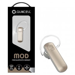 AlphaComm - MOD-GLD - MOD Bluetooth Headset in Gold