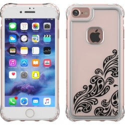 Ballistic Case - JE1738-B45N - Jewel Essence Case for iPhone 7 in Whispers Black