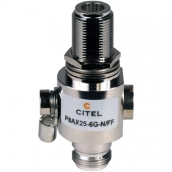 Citel - P8AX25-6G-N/FF - P8AX-6G series RF Coaxial surge protector 6 GHz