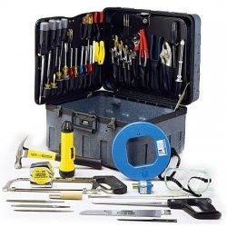 Jensen Tools - JTK-51 - Master Telecom Installer's Kit in X-tra Rugged Rota-Tough Case