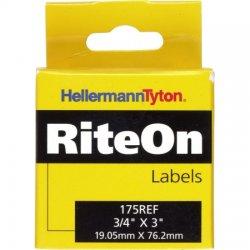 Hellermann Tyton - 175REF - Rite-On refill. 3/4 x 3/4/ 90 roll