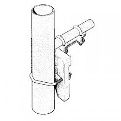Sinclair - CLAMP115 - 90 Degree Pipe-Pipe Clamp