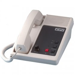 CPI Comm - DR10-BLK-2F - Black 2 Tx Intercom Telephone DC Remote Control