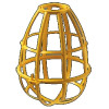 Engineered Products (EPCO) - 16110 - EPCO 16110 Heavy Duty Replacement Bulb Cage; Yellow