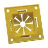 ERICO / Caddy Fasteners - ESGFP - Erico ESGFP Square Stud Easy Snap Grommet; Polyethylene, Yellow