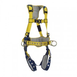 3M - 1100796 - 3M DBI-SALA Medium Delta Comfort Construction Style Harness With Back And Side D-Rings And Revolver Vertical Torso Adjusters, ( Each )