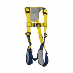 3M - 1100936 - 3M DBI-SALA Medium Delta Full-Body Harness With Back D-Ring And Quick Connect Buckle Leg And Chest Straps, ( Each )