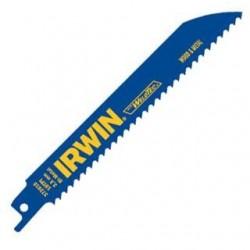 IRWIN Industrial Tool - 372610B - Irwin 372610B 6 x 10 TPI Metal Wood Cutting Reciprocating Bi-Metal Blades (25 Pack)