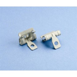 Pentair - 4H24SS - Erico Caddy 4H24SS Flange Clip, Hammer-On, 1/8 - 1/4 Flange, For Use With Threaded Rod