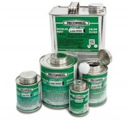 Rectorseal - 55902 - Rectorseal 55902 PVC Cement, Clear, 1/2 Pint